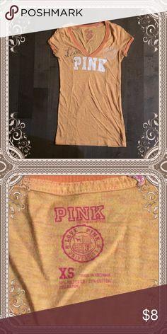 "Pink t-shirt ""Pink"" t-shirt size xs pink Tops Tees - Short Sleeve"