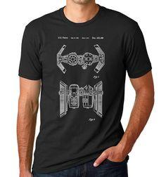 Star Wars TIE Bomber brevet T Shirt, chemise de Starwars, Shirt Star Wars, Star Wars cadeaux, navires de Star Wars, PP456