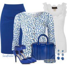 Oui Leopard Print Knit Cardigan