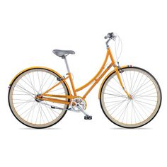 This standard sized C3 Bicycle is a Dutch-style, 3-speed internal hub, all-purpose, lightweight steel-frame urban bike – and one of PUBLIC Bikes' newest designs. While the internal hub gearing allows you to shift without pedaling, the three speeds provide plenty of range for moderate hill climbing. With its curved, step-through frame, the C3 is a unisex design especially well suited for those who wear skirts, carry extra weight on the rear rack or prefer not to swing a leg over a typical…