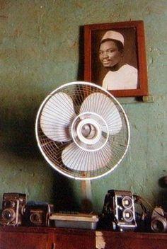 Studio of photographer Malick Sidibe, Bamako, Mali.: