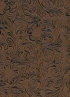 Turquoise Tooled Faux Leather Turquoise Antiqued Embossed