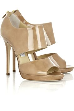 Jimmy ChooPrivate patent-leather sandalsfront