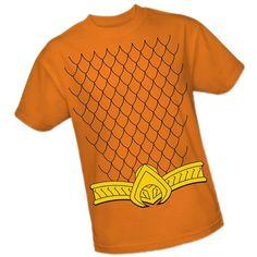 Aquaman Costume -- DC Comics - The New 52 Adult T-Shirt, XXX-Large