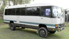 Resultado de imagem para toyota coaster motorhome for sale Bus System, Train System, Ambulance, Luxury Rv Living, Off Road Rv, Toyota Hiace, Great Inventions, Camper Conversion, Campervan
