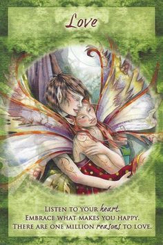 """Love"" Magical Times Empowerment Cards par Jody Bergsma"