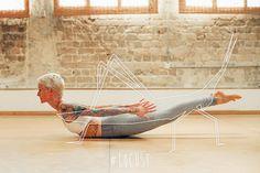 Simple yoga with jackie movimentos animais Moriya Neva
