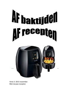 by Gerard Read more about bereiding, airfryer, gram, peper, zout and laat. Beignets, Air Flyer, Actifry, Air Fryer Recipes, Holidays And Events, Good To Know, Juni, Delicious Food, Pasta