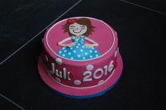 Blond Amsterdam taart - cake - pregnant - zwanger