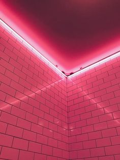 Wallpaper shared by wallions - red pink light wall lighting line ceiling da Aesthetic Light, Aesthetic Collage, Pink Aesthetic, Photo Rose, Pink Photo, Images Wallpaper, Pink Wallpaper, Laptop Wallpaper, Photo Wall Collage
