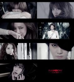 Rainbow released a MV teaser for their upcoming single Black Swan - YaKorea.com