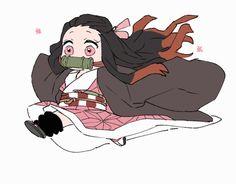Kamado Nezuko - Kimetsu no Yaiba - Image - Zerochan Anime Image Board Anime Chibi, Manga Anime, Anime Art, Demon Slayer, Slayer Anime, Arte Do Kawaii, Anime Character Drawing, Demon Baby, Stray Dogs Anime