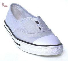 Converse Chucks souris 551533C Cove Chambray Gris Noir Blanc, Converse Schuhe Damen Slim Sizegroup Leiste 7 5/B:36 - Chaussures converse (*Partner-Link)