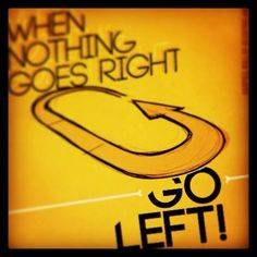 When nothing goes right... GO LEFT! Harpies Roller Derby Milano