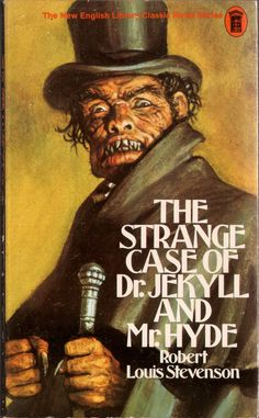 & Strange Case of Dr. Jekyll and Mr. Hyde& by Robert Louis Stevenson. Cover art by Josh Kirby. 1974 first New English Library edition. Horror Fiction, Horror Films, Pulp Fiction, Horror Stories, Gothic Horror, Arte Horror, Horror Art, James Bond Movie Posters, Mystery