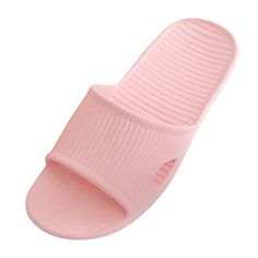 d66061277db9c0 Sonnena Women Men s Slip On Slippers Non-Slip Shower Sandals House Mule  Soft Foams Sole Pool Shoes Bathroom Water Shoes Pink) - Find Price Online  Shopping
