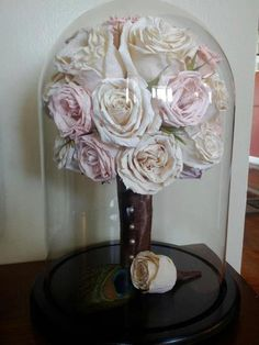 Preserve your wedding bouquet.