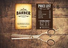   Business card design   #vintage #barbershop