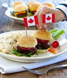 Happy Canada Day to all of our Canadian friends! Check out these wonderful, healthy Canada Day recipes from Canada Day Flag, Canada Day 2017, Canada Day 150, Happy Canada Day, Canada Day Crafts, Canada Day Party, Canada Holiday, Thinking Day, Party
