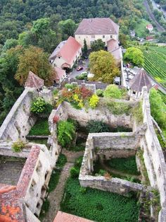 Burg Hornberg Imperial Knight, Germany Castles, Garden Bridge, Outdoor Structures, Castles, Photo Illustration