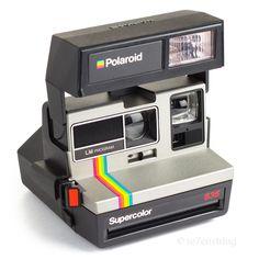 Polaroid 635 Supercolor LM Program 600 Instant Film Camera