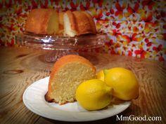 Amazing Lemon Pound Cake...no more needing a box to make your new favorite cake | MmGood.com