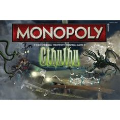 MONOPOLY®: CTHULHU Intermingle with the Great Old Ones, descending deeper into twilight realms best left forgotten as you face some of the most notorious creatu