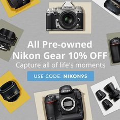 432 best nikon dslr photography news images on pinterest camera ends tonight 10 off all pre owned nikon gear at keh all pre owned nikon gear at keh is 10 off when you use coupon code nikon9s at checkout fandeluxe Choice Image