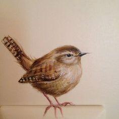 Mural Painting, Watercolor Paintings, Wildlife Art, Wall Art Designs, Bird Art, Beautiful Birds, Love Art, Wall Murals, Art Drawings