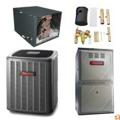High SEER, 95% Air Conditioning & Furnace Package - 3.5 Ton, Vert by Amana. $4250.95. Amana AFC149640100U-A Air Conditioning & Furnace Package 3.5 Ton Amana appliances are created for people who have the desire to find simple solutions at an affordable price. To meet this need, Amana brand appliances provide uncomplicated assistance with everyday household tasks and still look great in the home. The evolution of Amana began in 1934; innovative from the start, Aman...