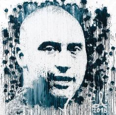"Saatchi Art Artist Andrzej Lenard; Painting, ""Derek Jeter portrait painted with…"