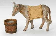 Mary's Donkey - 3 piece set - for 7.5""