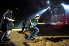 Brad Paisley opened RodeoHouston with an authentic take on country music on Tuesday, March 4. Keep up with rodeo concert reviews, photos and more at http://www.chron.com/entertainment/rodeo/eo
