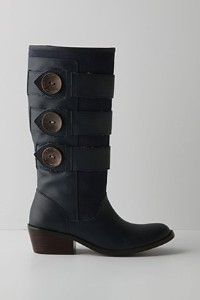 Anthropologie Mixed Media Boots
