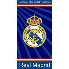 Toalla de Playa Real Madrid RM 07 - Bazartextil.com