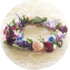 I love.. BAMBINO flower crown child size by TOBEIKI on Etsy