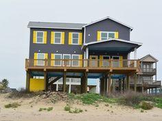 13 fascinating beachfront galveston images vacation rentals rh pinterest com