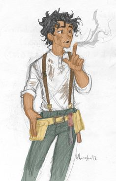 Leo+Valdez | Leo Valdez [Colored] by thelyssymarie on deviantART