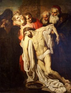 The Descent from the Cross by Peter van Molle