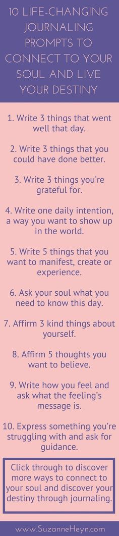 Powerful journaling