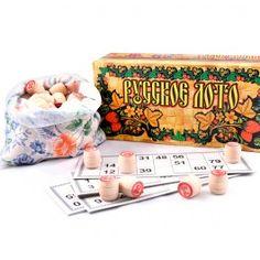 Top of my Christmas wish list!! Russian Bingo Game Set