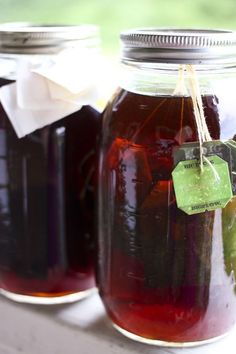 Shaken Iced Tea {Starbucks Knockoff} and Iced Tea Concentrate by foodiewithfamily #Iced_Tea #Shaken_Iced_Tea