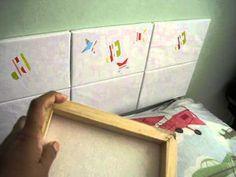 Como fazer uma cabeceira de cama box com telas
