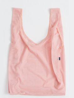 Mesh Tote in Pastel Pink by Baggu