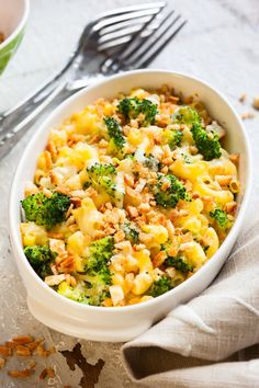 Casserole Recipe: Cheesy Macaroni & Broccoli Bake - 12 Tomatoes
