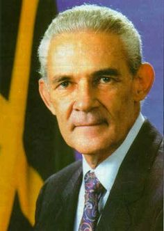 Michael Norman Manley Prime Minister of Jamaica serving two terms from March 1972 - November Then a third term as the Prime Minister from February 1989 - March Portia Simpson Miller, Jamaica People, Air Jamaica, Jamaica History, Star Trek Posters, Bob Marley Quotes, Caribbean Culture, West Indian, Beautiful Islands