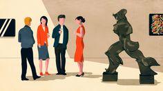 How to work the art market - Mr. Porter Journal on Behance