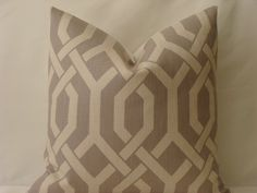 Decorative 20 x 20 Designer Pillow Cover  by PillowTalkandMore, $45.00