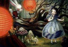 Alice in Wonderland - Benjamin Lacombe
