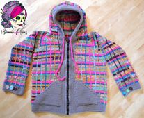 Ravelry: Pretty in Plaid - Jacket pattern by Glamour4You